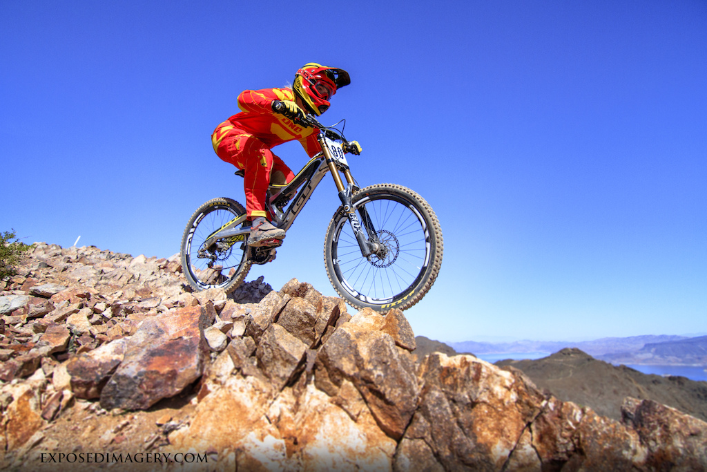 Photos by Exposed Imagery during the Reaper Madness Downhill ProGRT Round #1 Race at Bootleg Canyon.