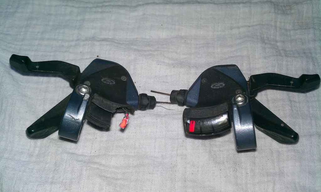 Deore LX 3x9 shifters