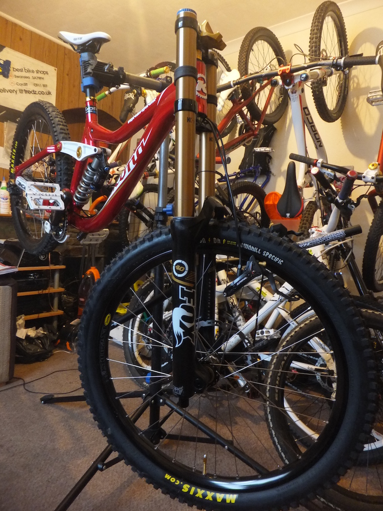 Saint brake work and bar set-up