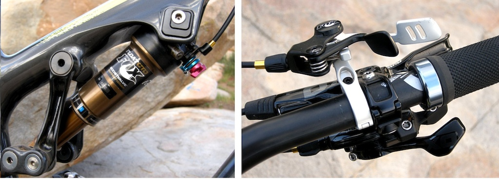 Fox Float CTD Remote shock and lever multi