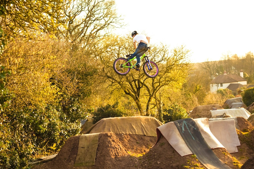 Kick-outs for the win!  Sunny afternoons at the local trails. Thanks to Keegan Crook/Fergal Michaelson for the photo.