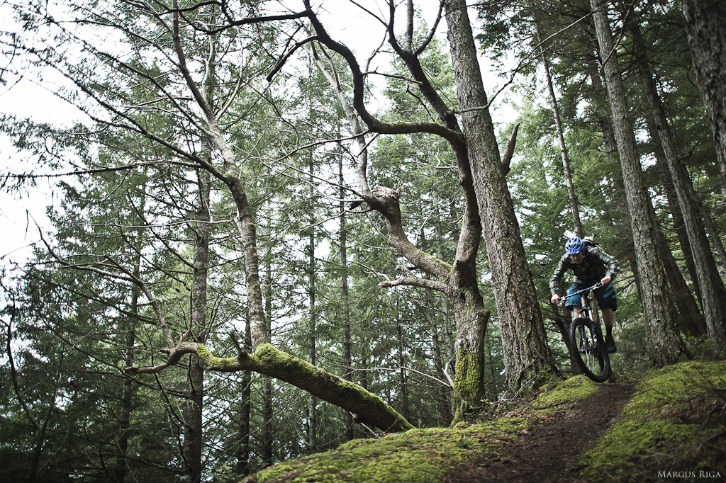 Riley McIntosh on the ridge trail.