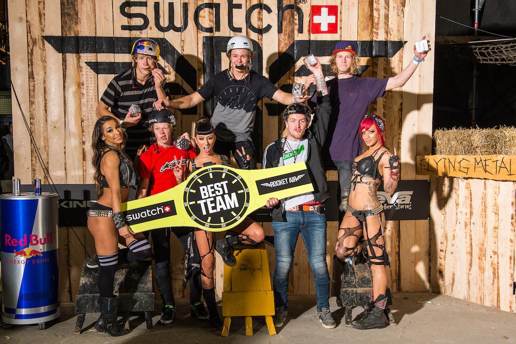 Swatch Rapid Fire Teambattle