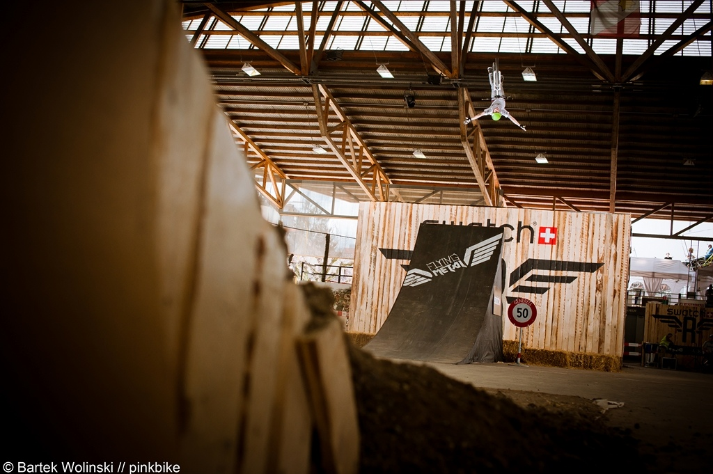 Tobias Wrobel with full extended backflip no hand