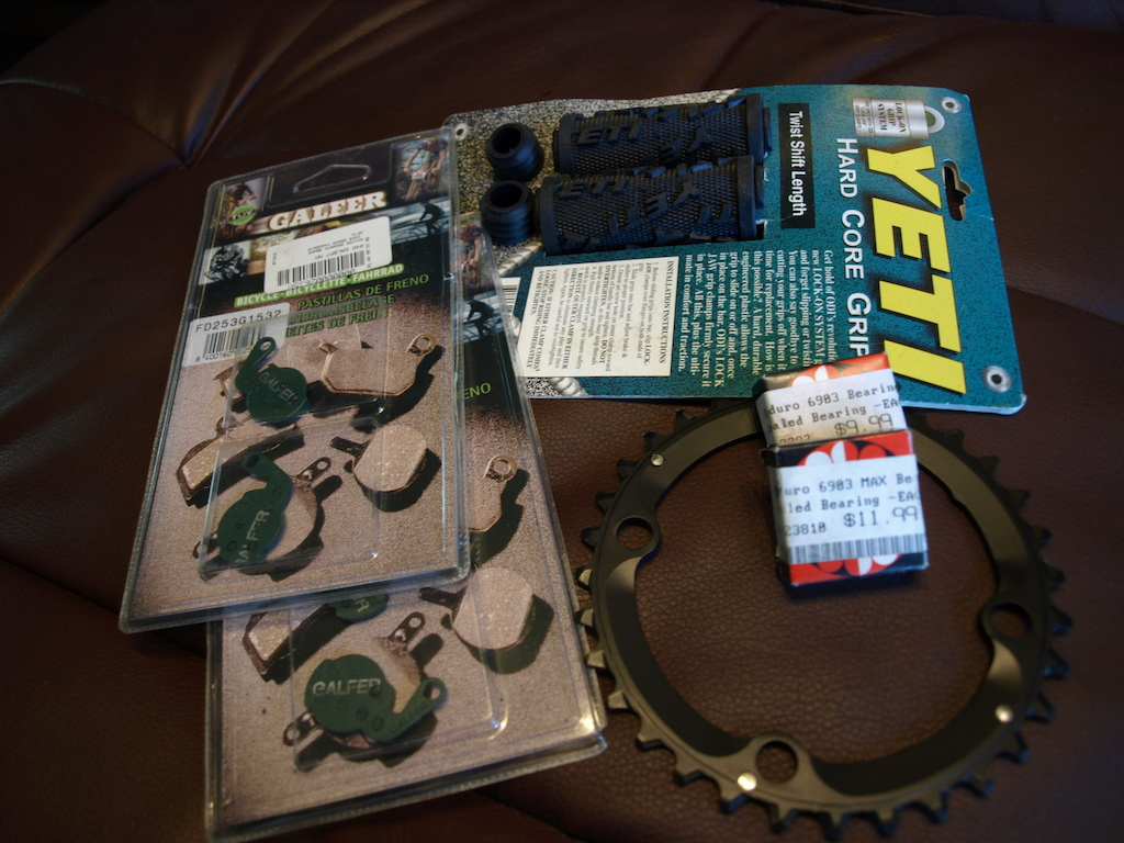 Spare parts kit to come with Yeti ASR-sl bike for sale