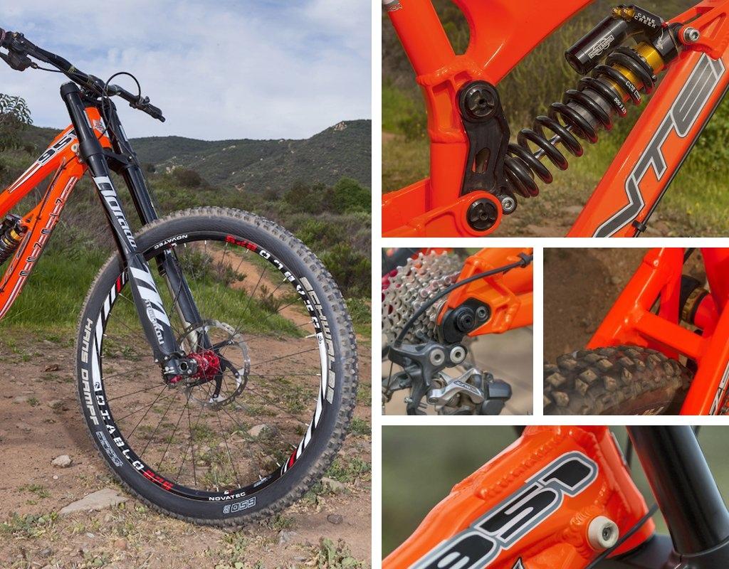 Intense 951 Evo first ride - details Novatec Diablo wheels Manitou Dorado  fork Cane Creek DB