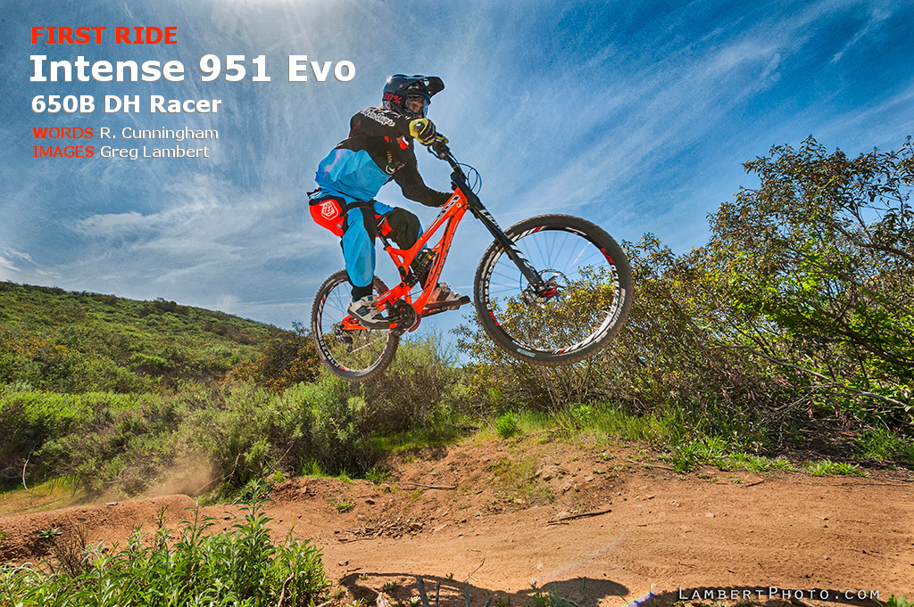 First ride on the Intense 951 Evo