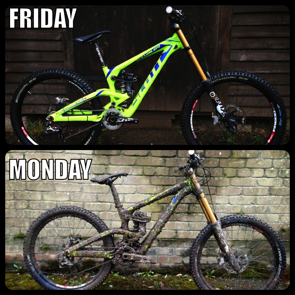 Hope everyone had a great weekend! Yes, this is the same bike.
