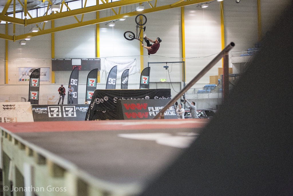 Flip Double Whip at Oslo Games 2013  Photo: Jonathan Gross