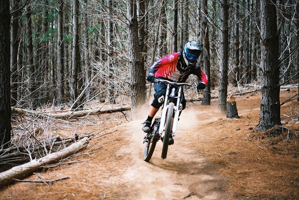 Darcy shredding Bennets Forest