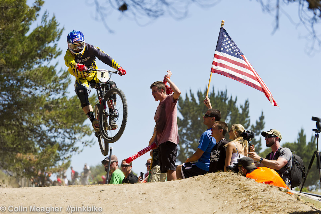 Freshly minted Redbull athlete Curtis Keene sending it. A few mistakes though had him 5 seconds out.