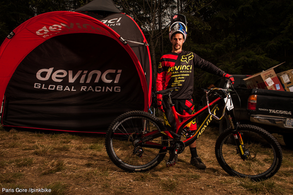 Stevie Smith and his Devinci Wilson