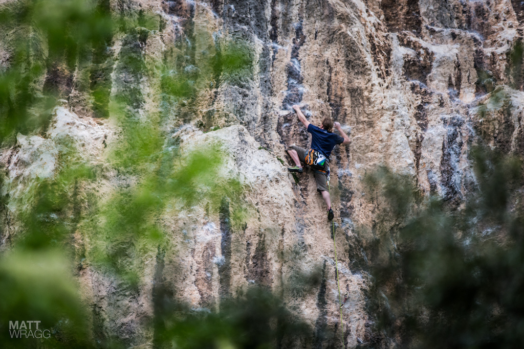This is what Garda has been known for for a long time - the rock climbing.