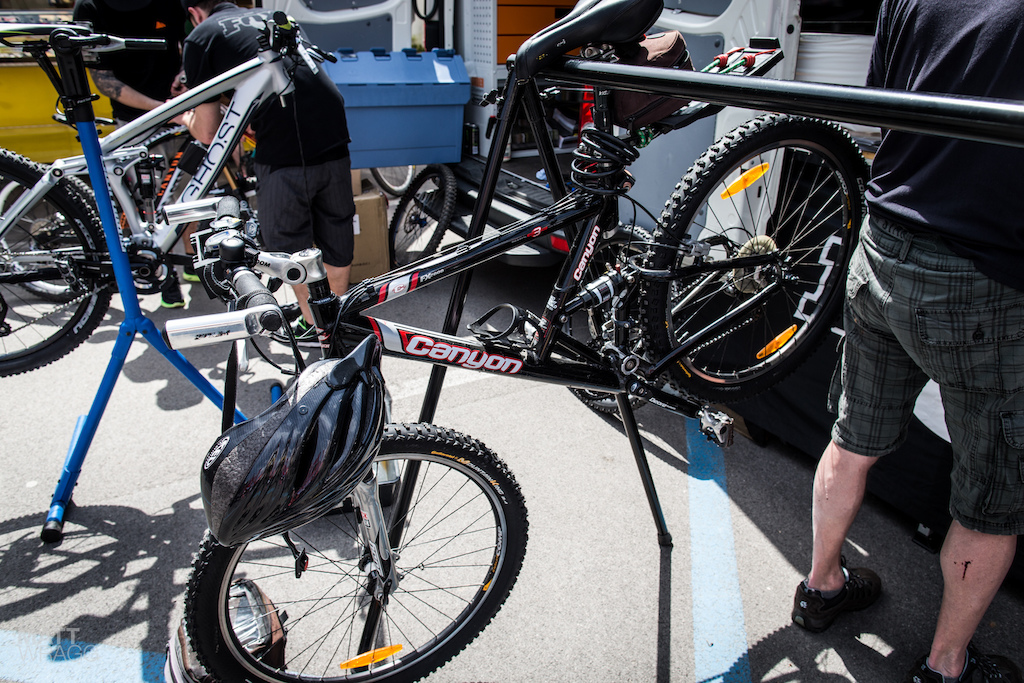 Canyon bikes have come a long long way in the last few years...