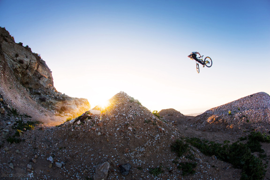 Matt Jones doing a big NAC NAC on top of Mijas bike park in Spain. Taken while shooting for our new full length film coming out in the next few weeks called Antidote, keep an eye out for it!