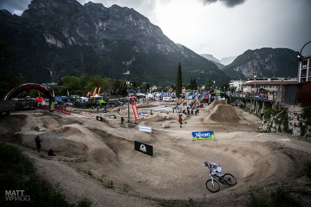 The prologue was held on the dirt area just outside the main arena.