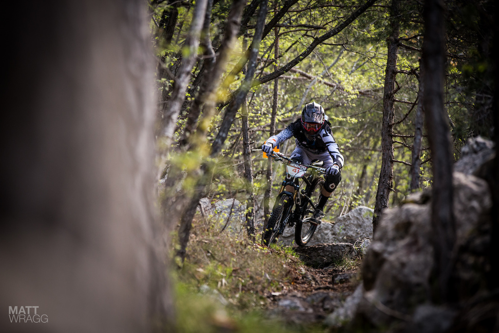 There s no denying that Dan Atherton has great style on a bike he manages to make even simple sections look good.