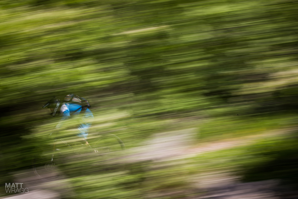 With the field spread out there was plenty of time to play with some panning shots today. This one is at 1 10.