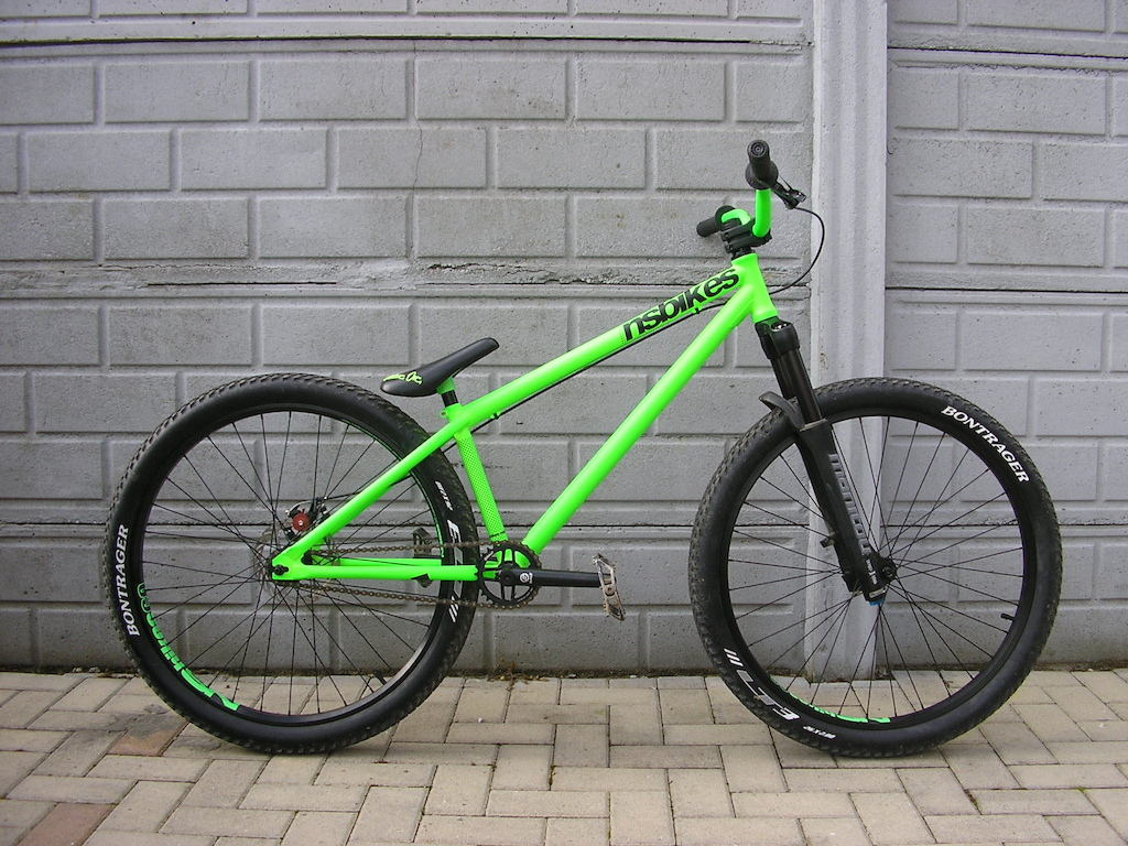 NSbikes Holy 1 2012 edition ,full cro-mo 4130 frame, Manitou Gold Label Jump Series 120mm