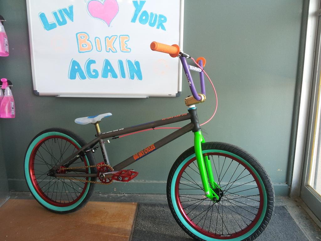 Custom Macneil  aka the rainbow bike
