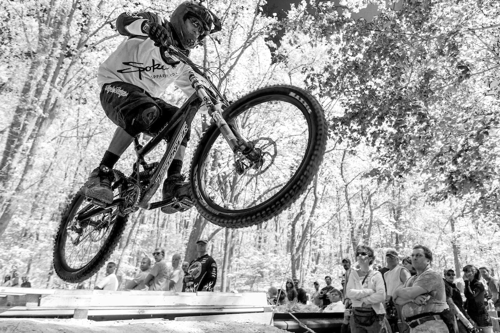 At the road gap