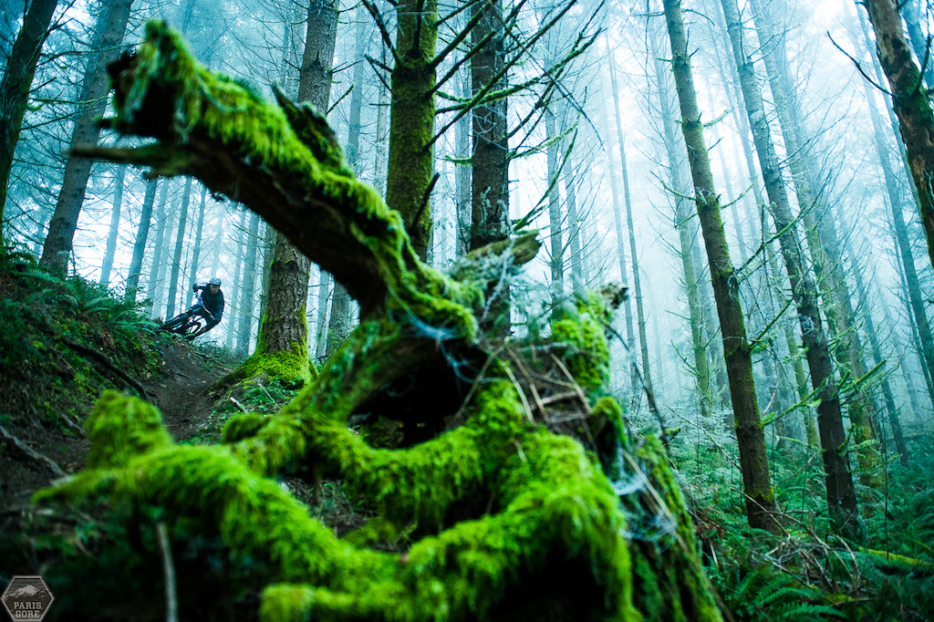 Bryn Atkinson has been training hard on the trail bike up in Seattle s misty mountains.