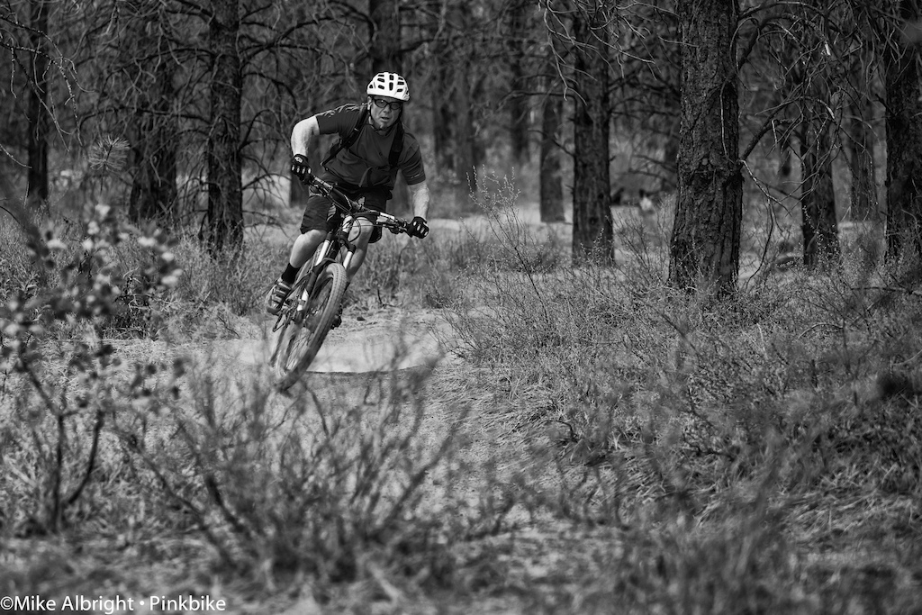 """Friday  """"Happy Hour"""" at the Lower Whoops trail near Bend, Oregon"""