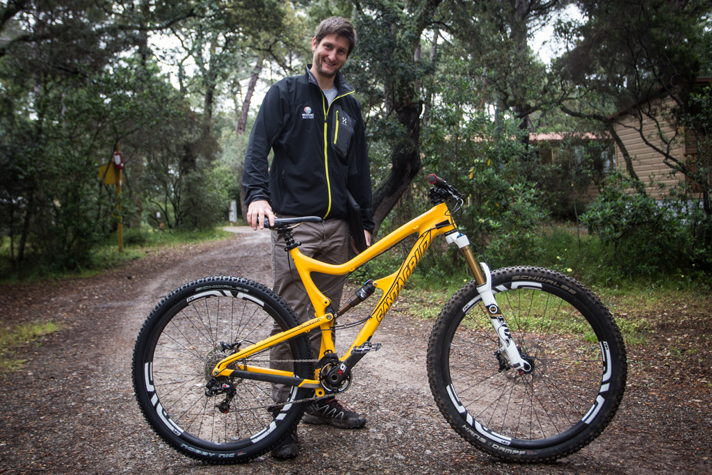 EWS main man Chris Ball and his Santa Cruz Tallboy LT