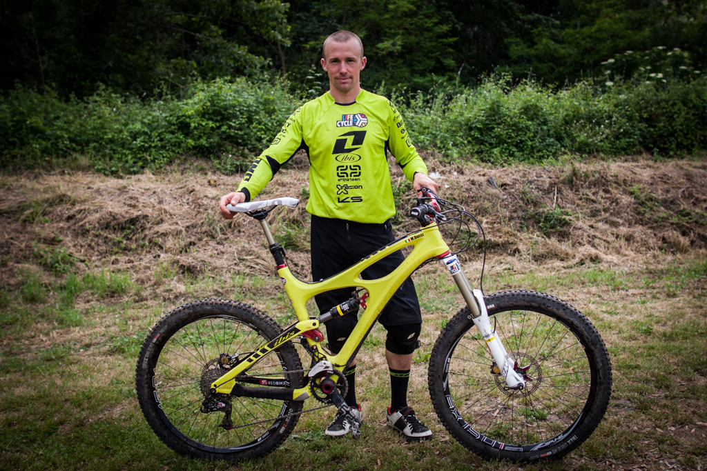 Manuel Ducci and his Ibis Mojo HD