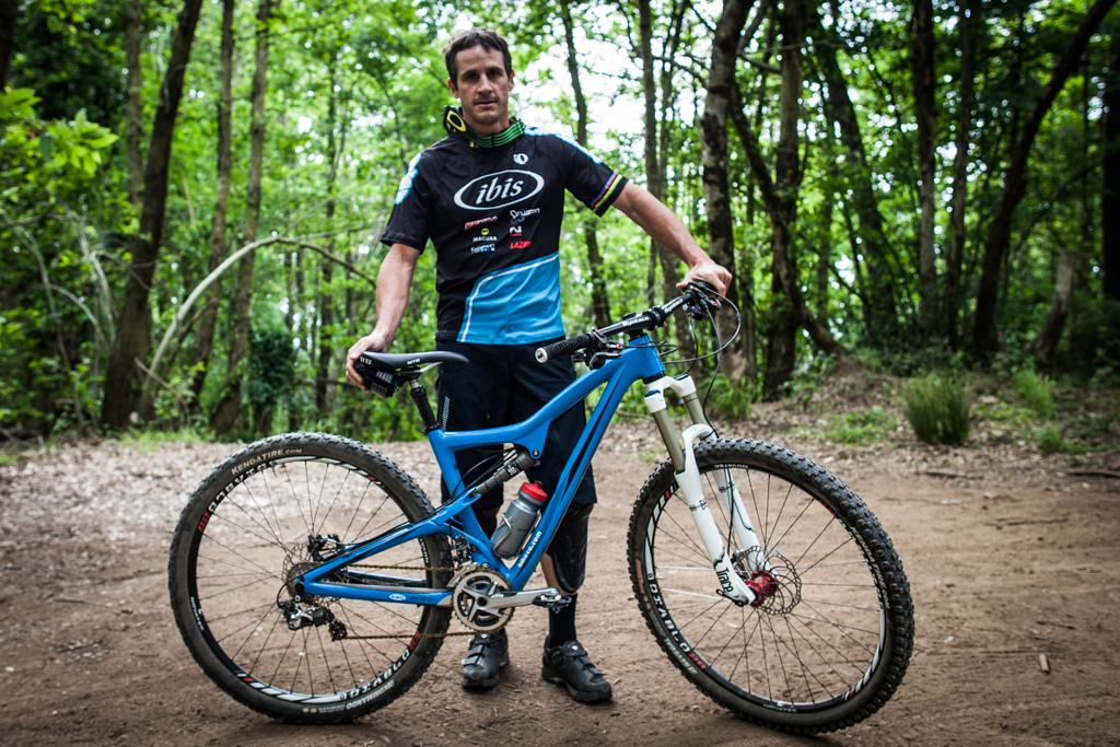 Brian Lopes and his Ibis Ripley
