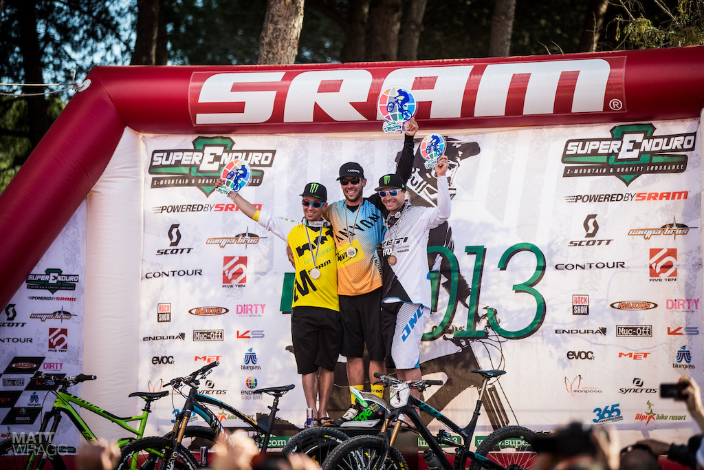 A historic podium and a great victory for a legend of the sport. What more can you ask for Between the three of them they have won at the highest levels of enduro downhill and 4X all competing today on the same course. Why are we excited about enduro This is why...