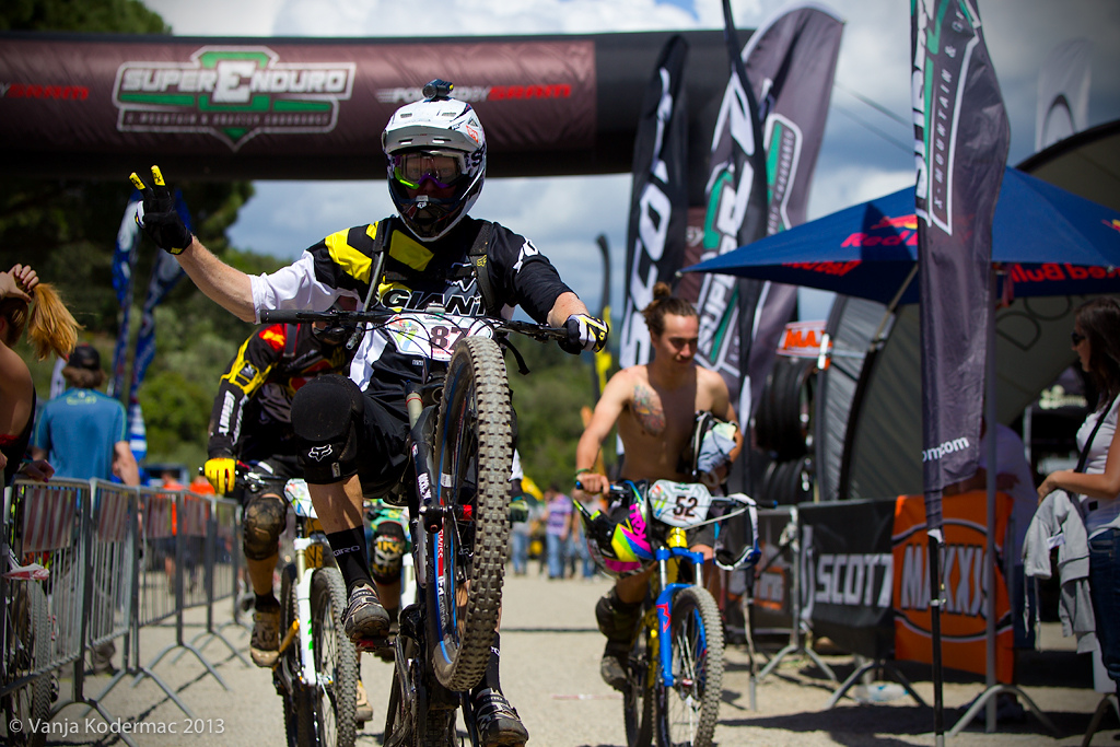 ...during Enduro World Series 2013 - Punta Ala, Italy
