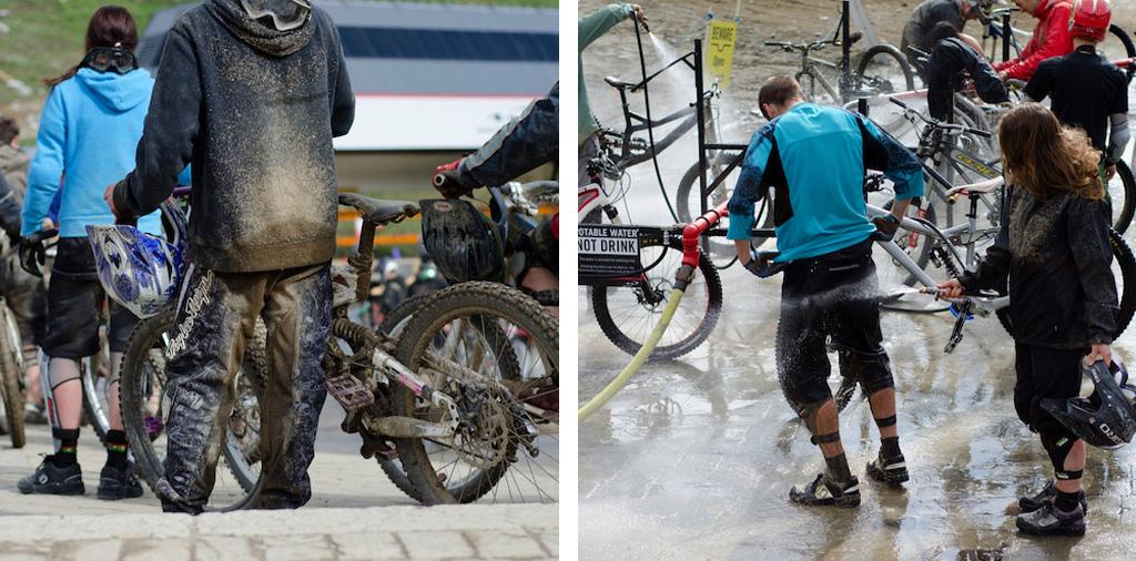 Whistler Bike Park opening weekend