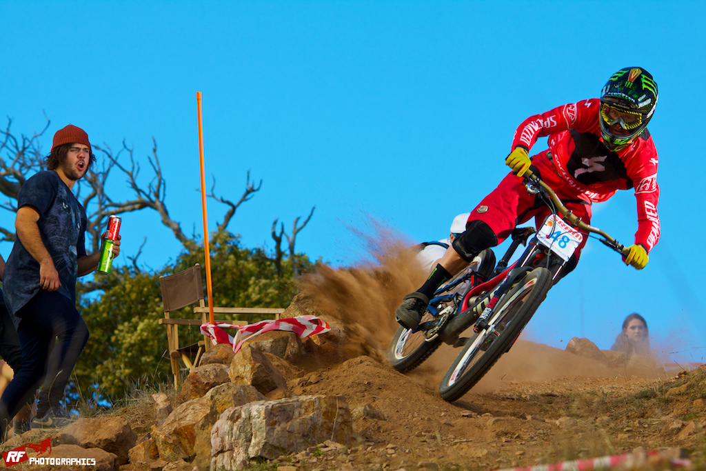 Troy Brosnan destroys the competition at a state round in South Australia.