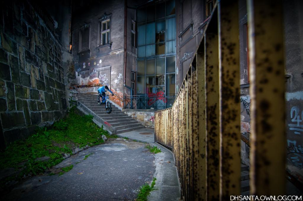 Night Downstairs in Bielsko-Biała
