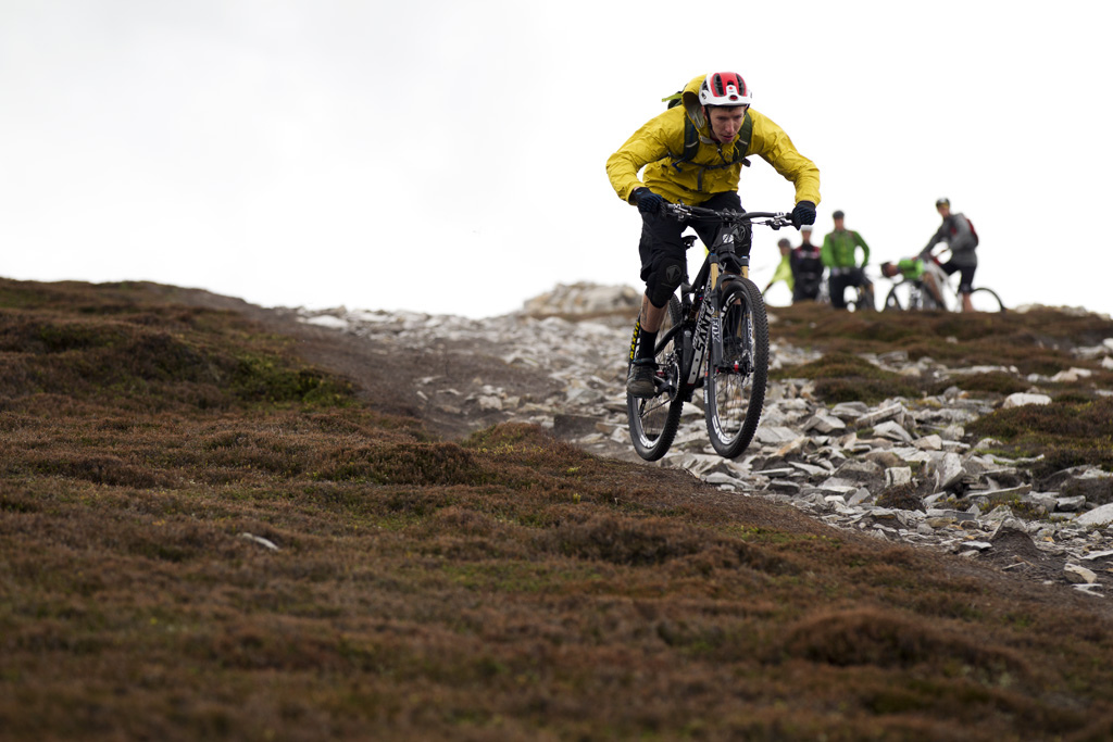 BRAEMAR SCOTLAND - 4 June 2013 - during the press launch for the Santa Cruz Bicycles Tallboy 2. Photo by Gary Perkin