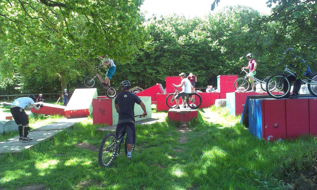 Trials Fun Day at Radical Bikes