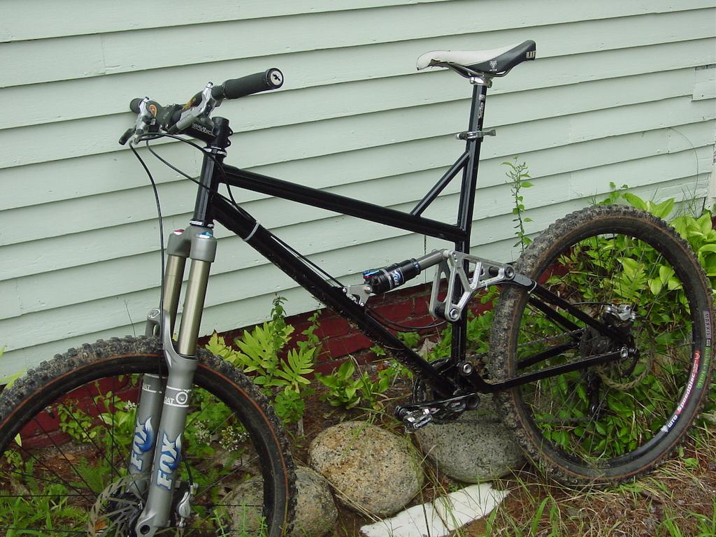 trailbike i welded up last year