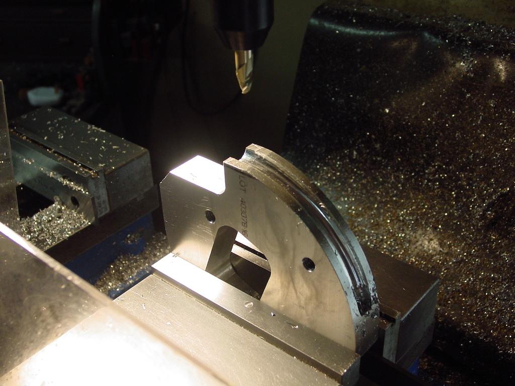 CNC'ing the tube bender die