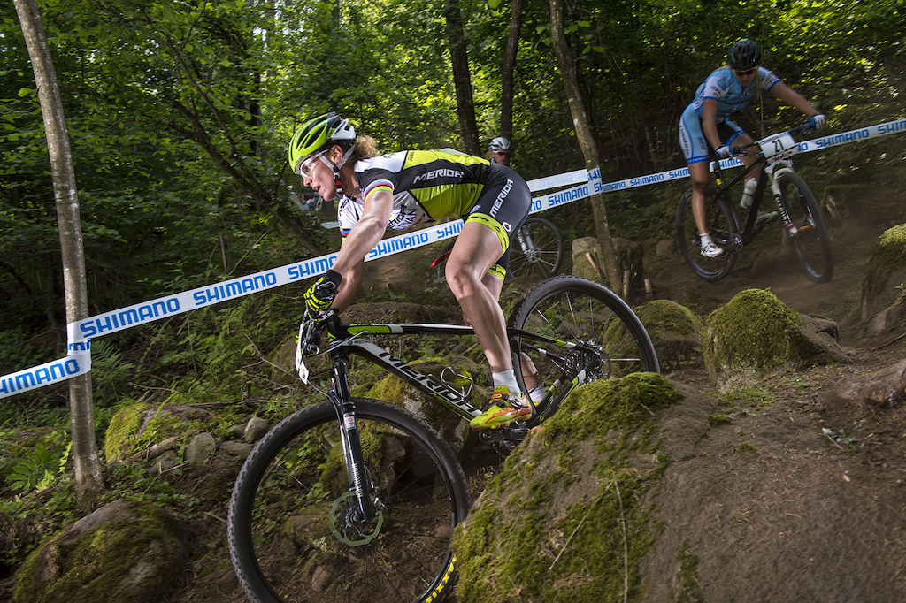 Gunn-Rita Dahle Flesjaa is simply amazing. At 39 years old she s still killing it. She came home fifth on the day