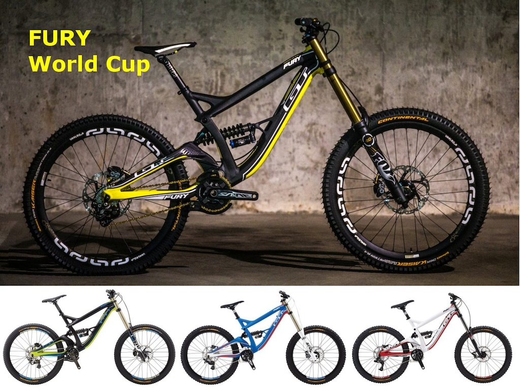 GT Fury World Cup along with Team Pro and Expert models