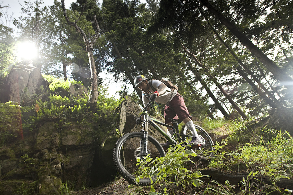 Top part of blue trail. Radunia Mtn. is my second home... Photo: mkuczynski.pl