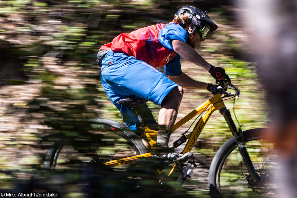 Local-ripper bicycle school instructor and dedicated trail-builder Nathan Riddle had his way with the rest of the field dislodging any monkeys left on his back.