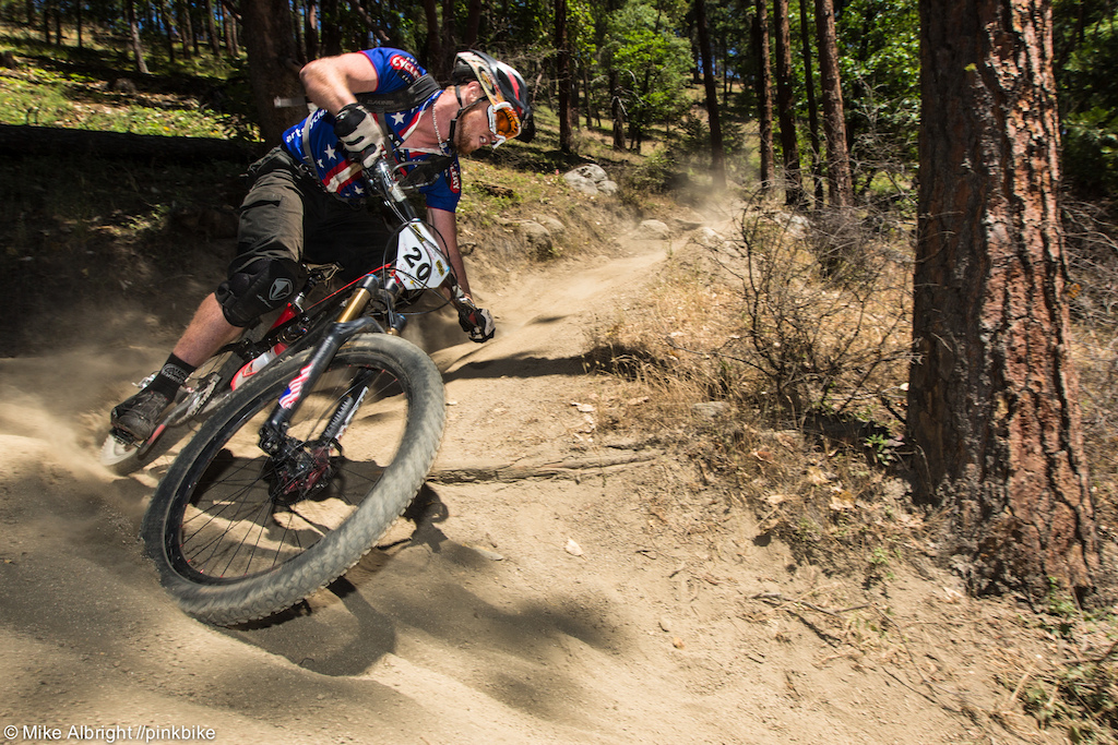 Tom Doran didn t have much of an issue with Ashland s loose dry dirt as he came away with 5th place in Elite. We caught up with Tom after the race to get his thought on enduro racing enduro is eliminating the painful climbs from competition and putting together the best downhill sections of trails. You have to rely on your power fitness and skill. It s kind of the complete package of mountain biking.