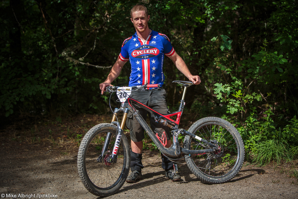 Tom Doran Slo2TheBone powered his bike ahead of a bunch of fast names this weekend.