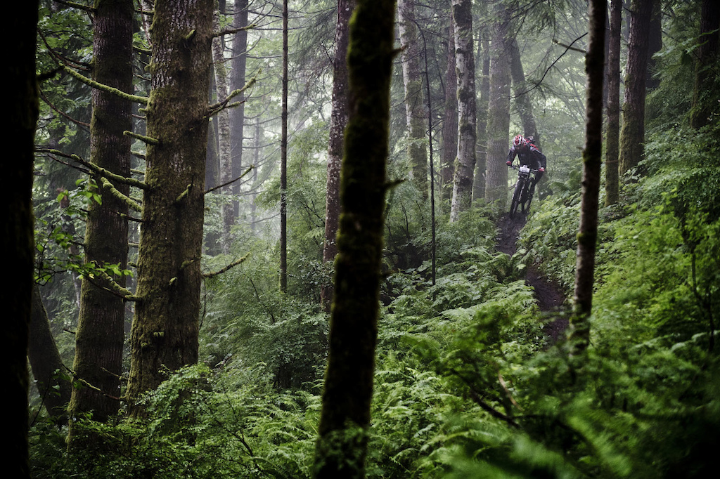 Some slick conditions descended on Day 2, Campbell River - the first rainy day in six years.