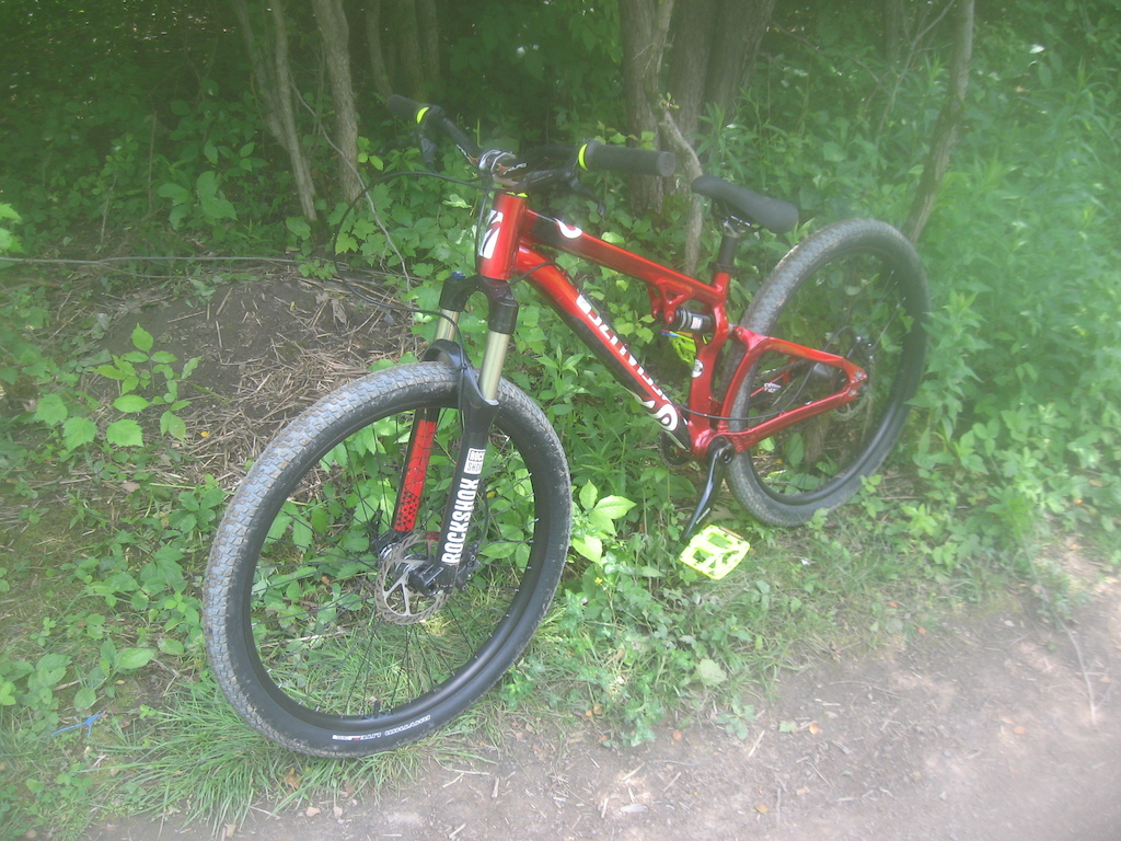 new specialized P. slope of my friend , this bike is tight and light !