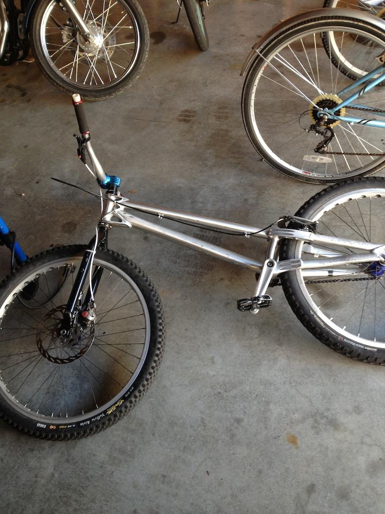 My trials bike