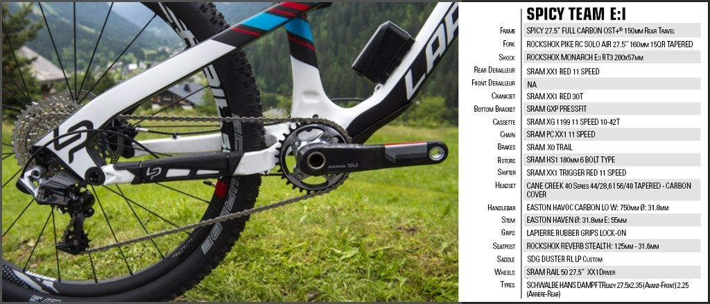 Lapierre Spicy Team component spec