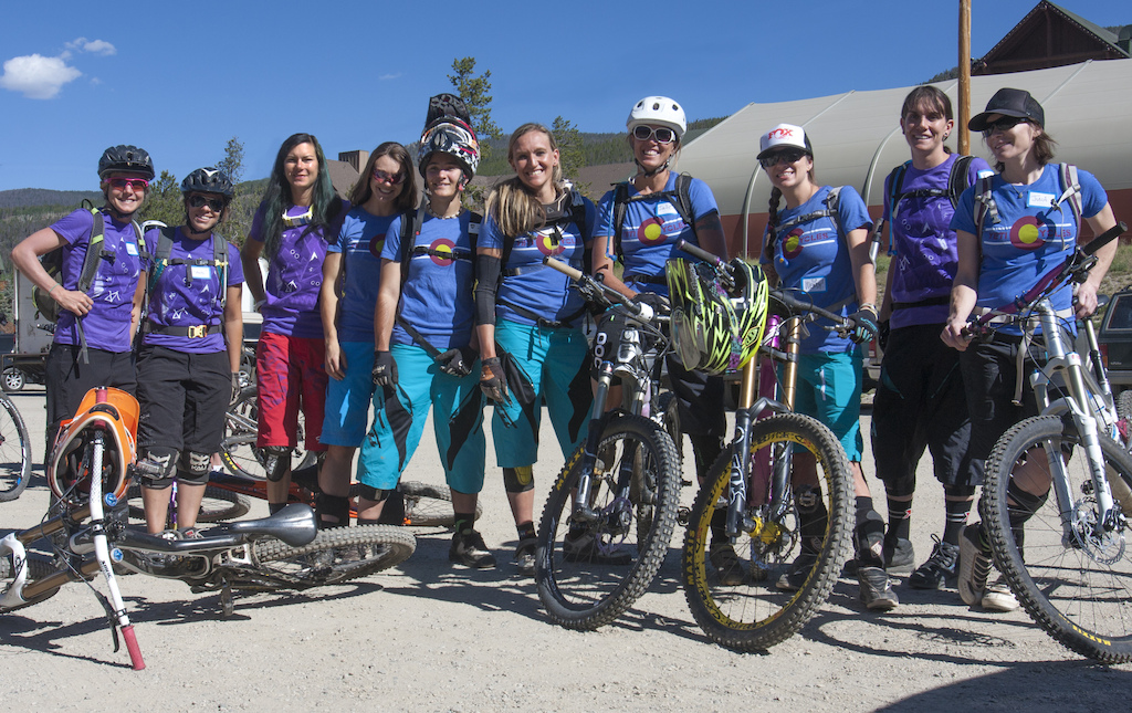 The all-star coaching line-up for the Beti AllRide Clinic.